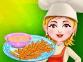 Сладкий картофель фри для Терезы