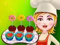 Цветочные кексы для Анны, Ираиды, Раисы