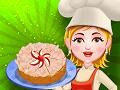 Миндально-яблочный торт для Аделины