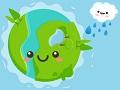 Счастливая зеленая Земля