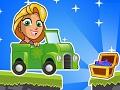 Принцесса Рапунцель Гонки на автомобилях