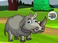 Побег носорога